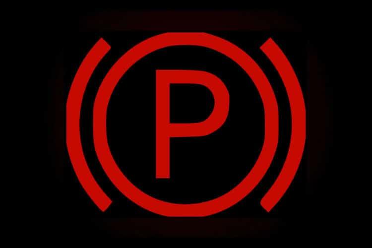 Parkeringsbromslampa