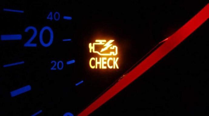 Check Engine lyser